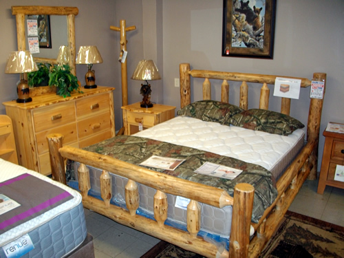 Rustic Timber Bedroom Set By Bestcraft